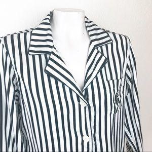 Lauren Ralph Lauren LRL striped pajamas Medium